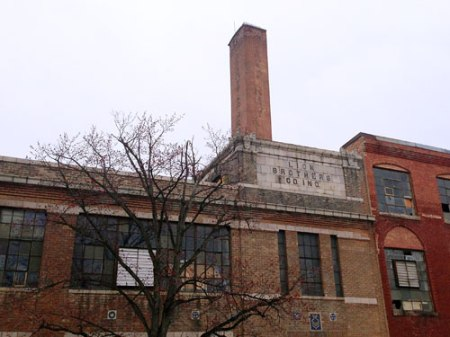 Lion Brothers Co. Inc. Ghost Sign in Baltimore