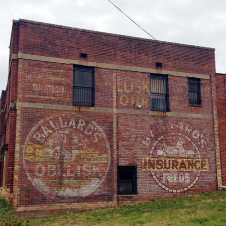 Ballard's Ghost Signs in Birmingham