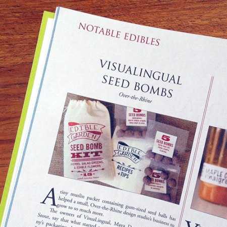 VisuaLingual in Edible Ohio Valley Magazine