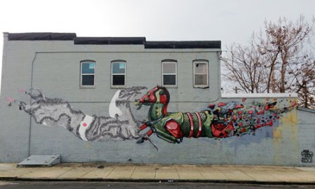 Sowebo Mural by Never2501 and Pixel Pancho