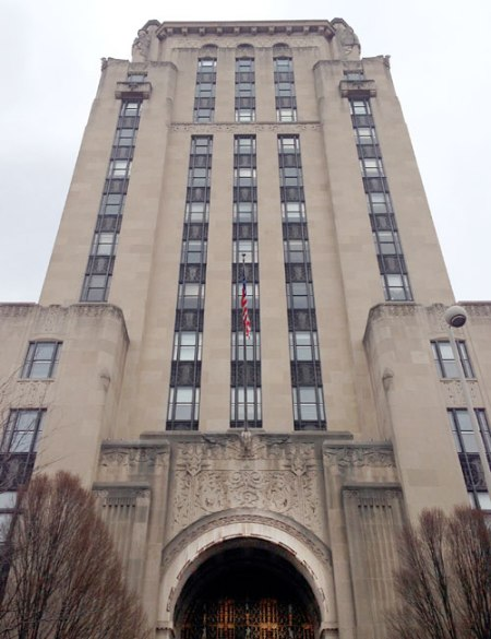 Cincinnati Times-Star Building by Samuel Hannaford & Sons