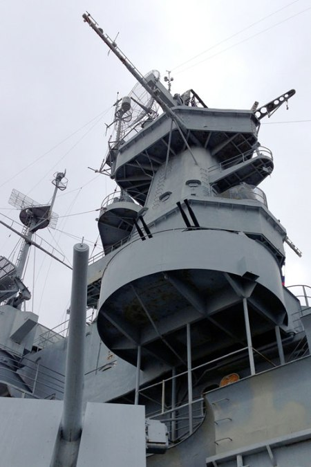 USS Alabama (BB-60) in Mobile