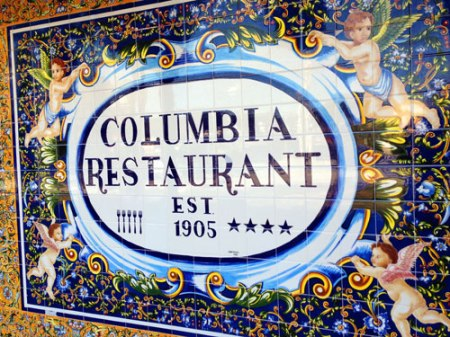 Columbia Restaurant in Tampa
