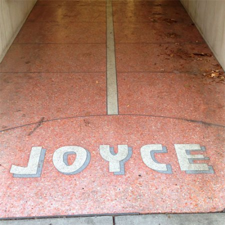 Joyce Ghost Sign in Mobile