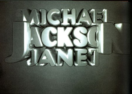 Michael Jackson: Scream video graphics by P. Scott Makela