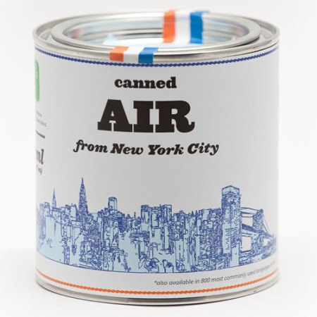 Original Canned Air from New York City by Kirill Rudenko