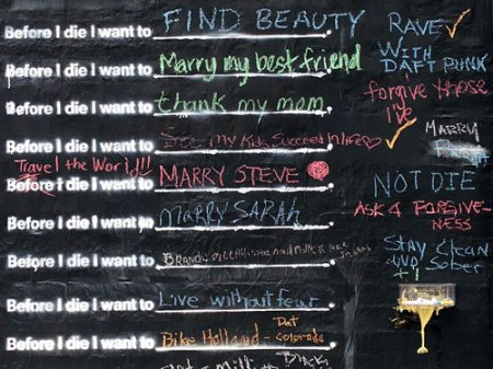 Before I Die [Cincinnati Edition] by Candy Chang
