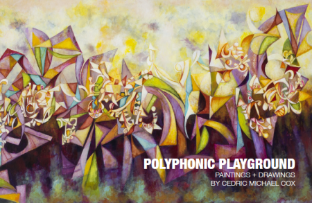 Polyphonic Playground: Cedric Michael Cox Exhibit at FiveMyles Gallery in Brooklyn