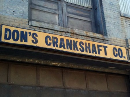 Don't Crankshaft Co. Ghost Sign in Over-the-Rhine