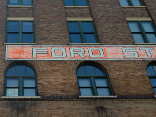 Ford Warehouse No 14 Ghost Sign In Omaha Department Of