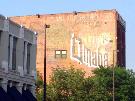 Omaha Ghost Sign in Omaha, NE