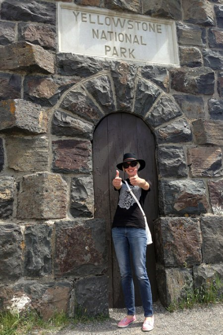 Yellowstone National Park Historic Entrance
