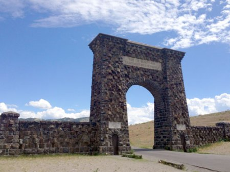 Yellowstone National Park Historic Entrance