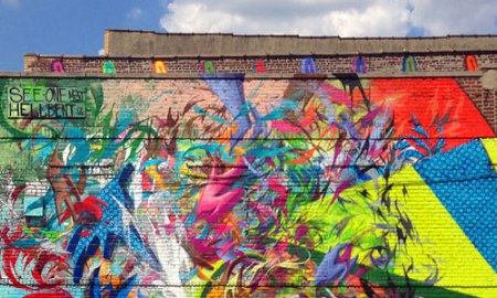 The Bushwick Collective Murals in NYC