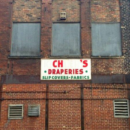 Kichler's Draperies Ghost Sign in Cincinnati