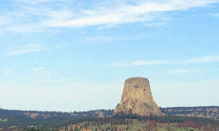Devils Tower National Monument in Wyoming