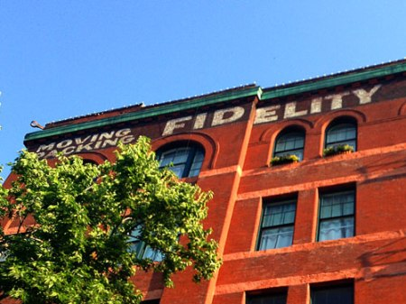 Fidelity Storage & Van Co./Union Outfitting Co. Ghost Signs in Omaha