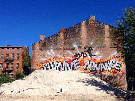 Adult Sandbox in Over-the-Rhine, Cincinnati