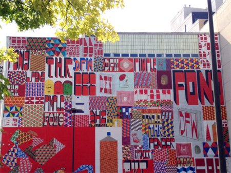 Untitled by Barry McGee a.k.a. Twist