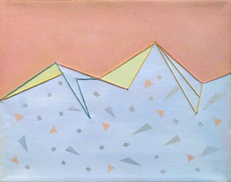 Confetti Mountains by Laura Brooks