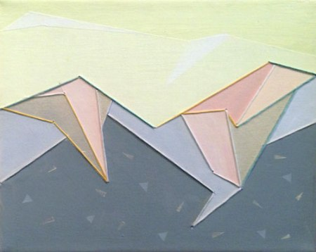 Confetti Mountains II by Laura Brooks