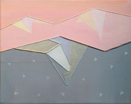 Confetti Mountains III by Laura Brooks