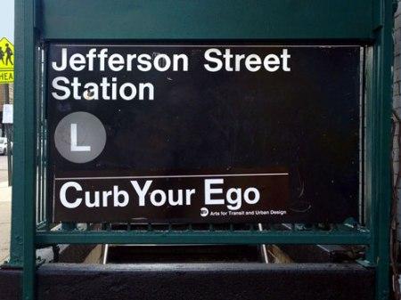 Curb Your Ego in Brooklyn