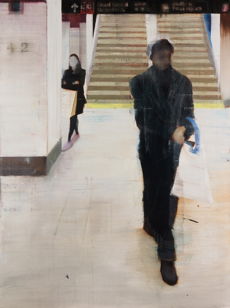 Grand Central Station 7-8pm (Waiting #177) by Brett Amory