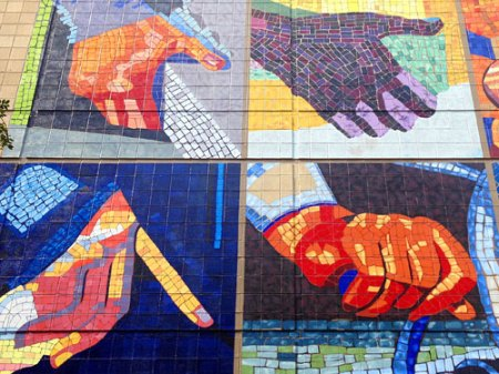 The Hands That Built This City by Jenny Ustick