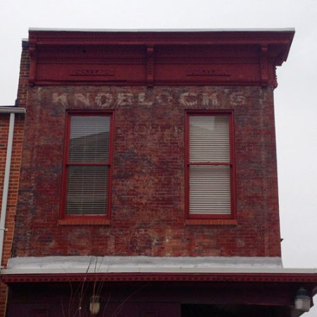 Knoblock's Coffee Ghost Sign in Baltimore