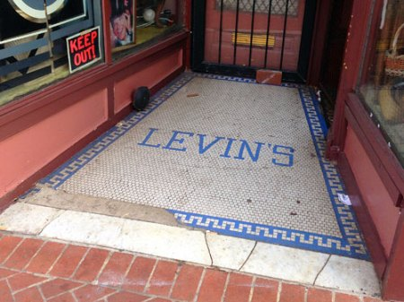 Levin's Ghost Tile in Baltimore