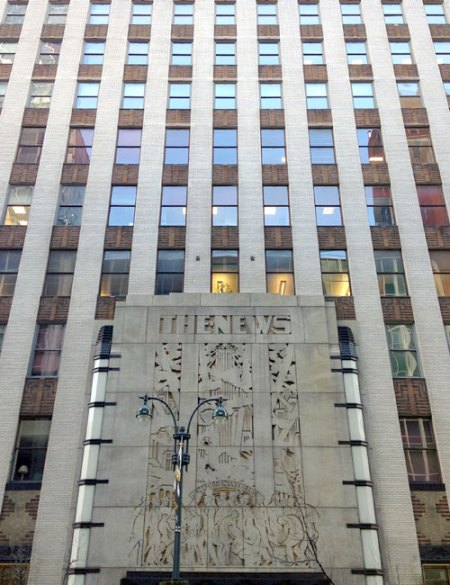 Daily News Building by Raymond Hood & John Mead Howells