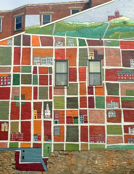 Pendleton Neighborhood Mural by Michael Stillion