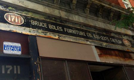 Bruce Boles Furniture Co. Ghost Sign in Over-the-Rhine