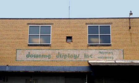 Downing Displays Inc. Ghost Sign in Over-the-Rhine