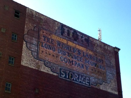 OK Storage Ghost Sign in Louisville