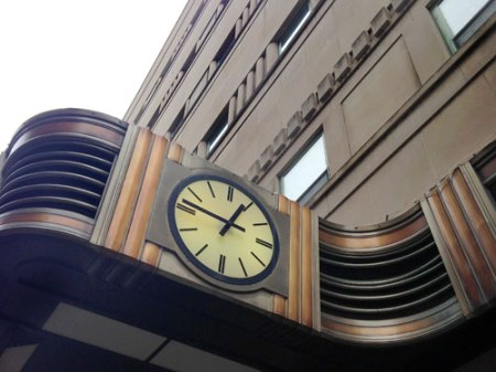 abandoned Shillito's department store in downtown Cincinnati