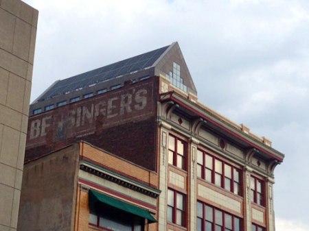 Bensinger's Ghost Sign in Louisville