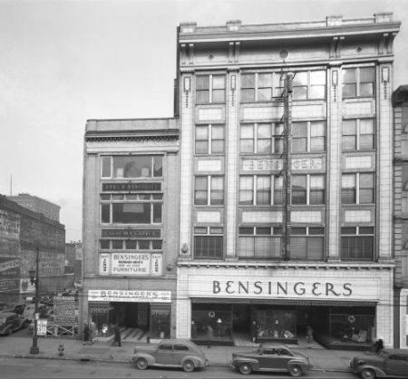 Bensinger's Outfitting Co. in Louisville