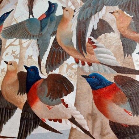 Martha, the Last Passenger Pigeon by John A. Ruthven