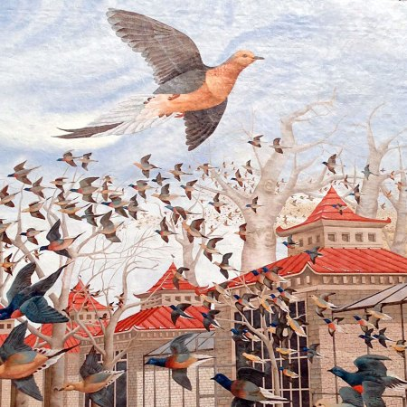 Martha, the Last Passenger Pigeon by John A. Ruthven