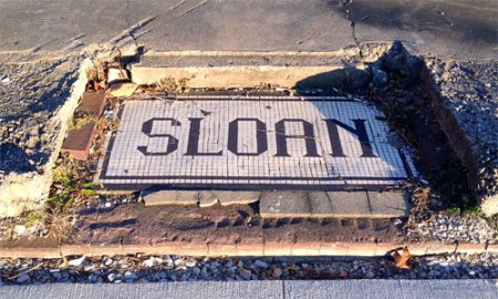 Sloan Ghost Tile in French Lick, IN