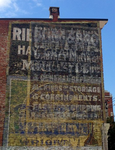 All Kinds of Storage & Consignments Ghost Sign in Louisville