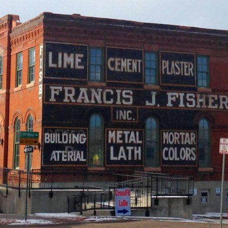 Francis J. Fisher Inc. Ghost Sign in Denver