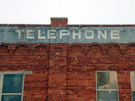 Mountain States Telephone Co. Ghost Sign in Denver