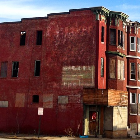 Quaker Oats Ghost Sign in Baltimore