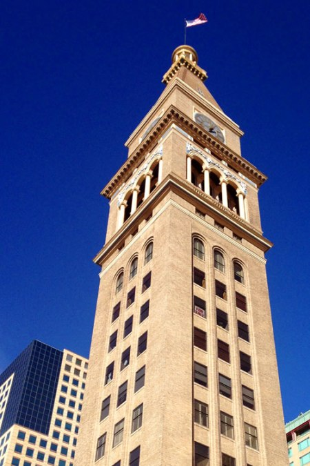 Daniels & Fisher Tower by Frederick Sterner
