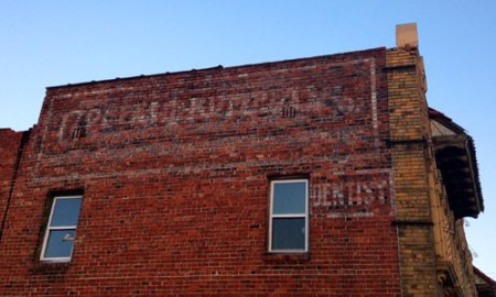 Dentist Ghost Sign in Kansas City, MO