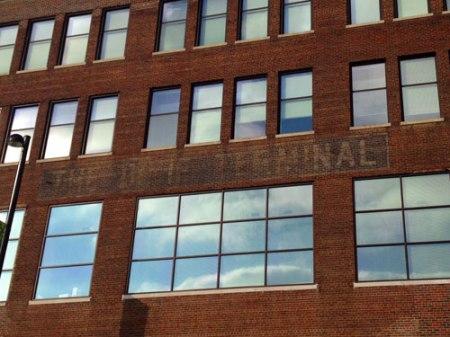 Dixie Terminal Ghost Sign in Cincinnati