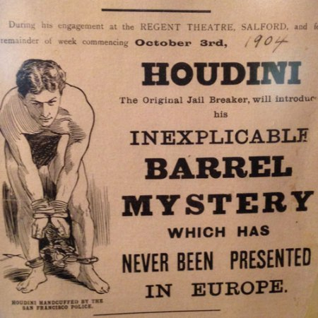 The Houdini Museum in NYC